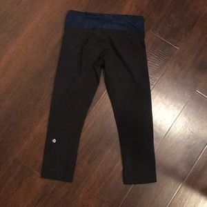 Lululemon Wunder Under Crops